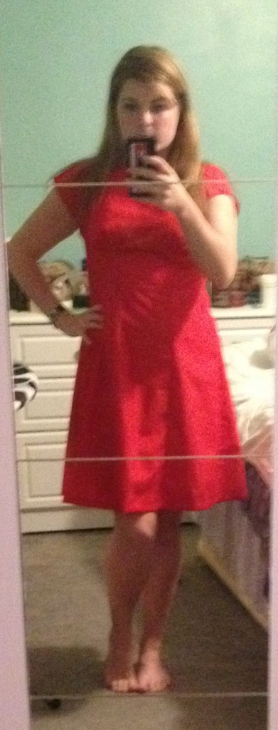 Red By Hand London Anna dress