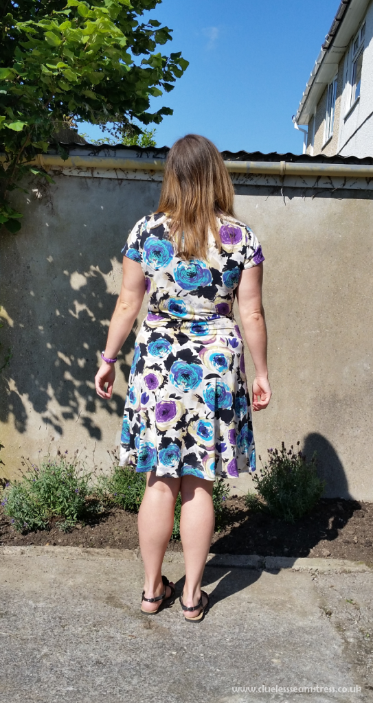 Dixie DIY Ballet dress back