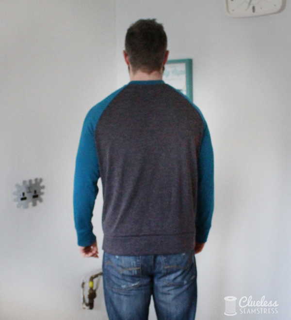 Paxson sweater back view