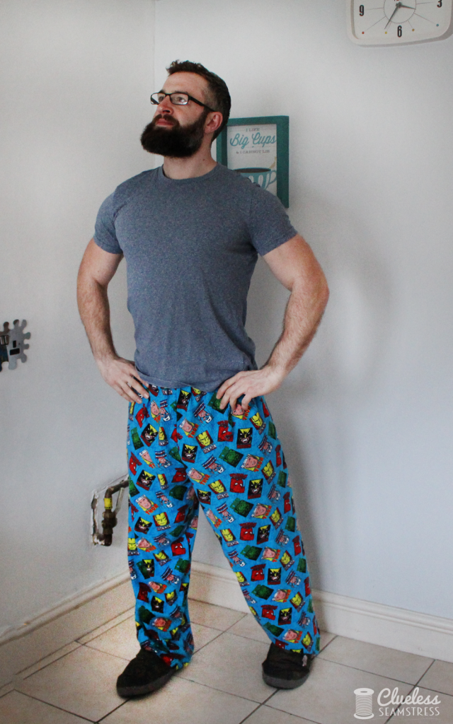 marvel superhero pyjama bottoms