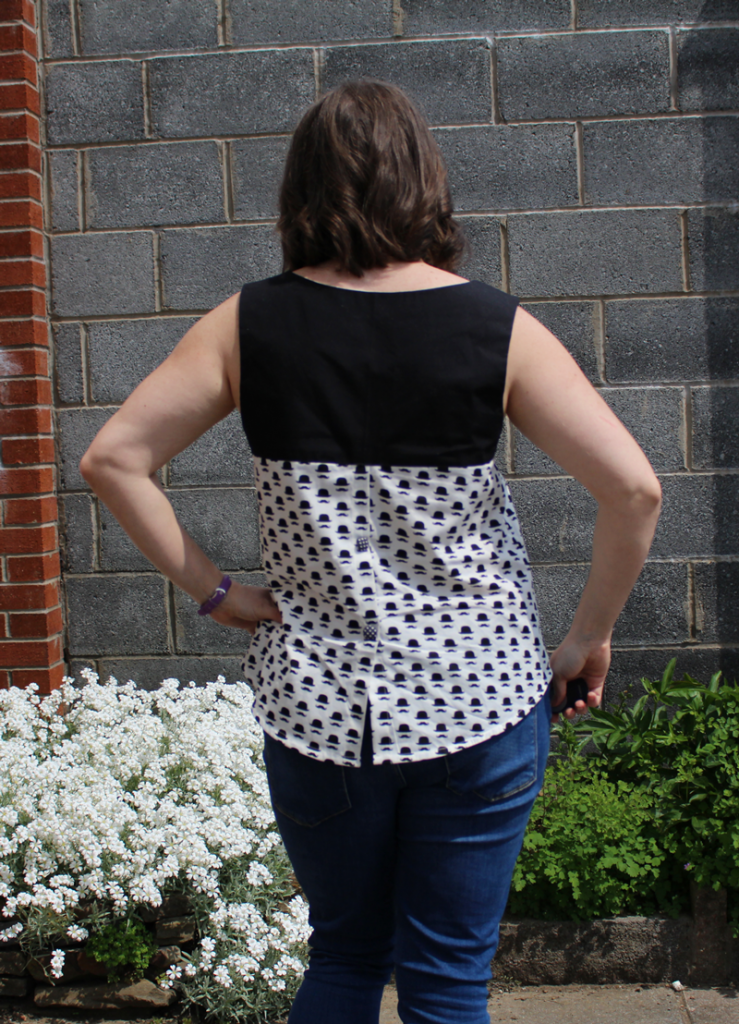 Datura blouse back