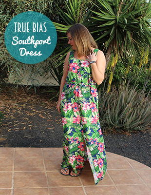True Bias Southport dress